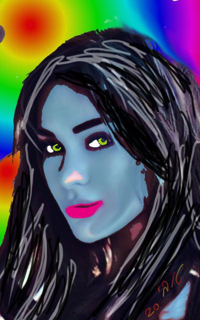 Portrait Digital Drawing | Tobie.ISR | PENUP
