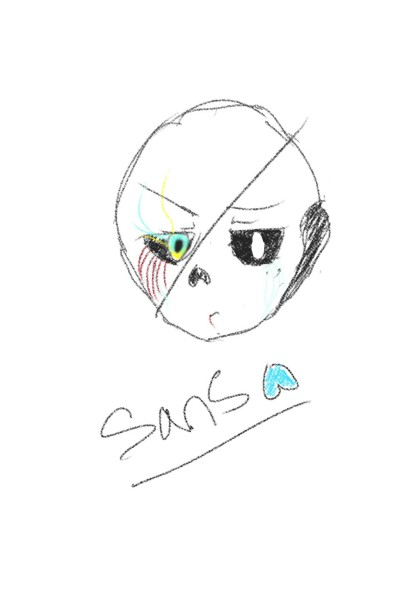 Sans | Inky | Digital Drawing | PENUP