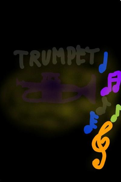 Trumpet | David25 | Digital Drawing | PENUP