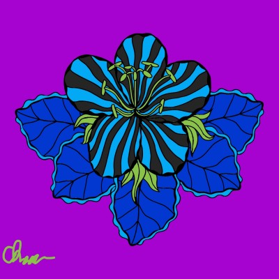 blue zebra | chaoszan | Digital Drawing | PENUP