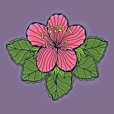hoa lan | meowmeow | Digital Drawing | PENUP
