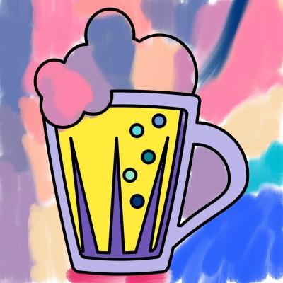 la birra di mille colori  | VittorioBeretta | Digital Drawing | PENUP