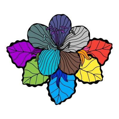 Rainbow Flower | Awesomeness2435 | Digital Drawing | PENUP