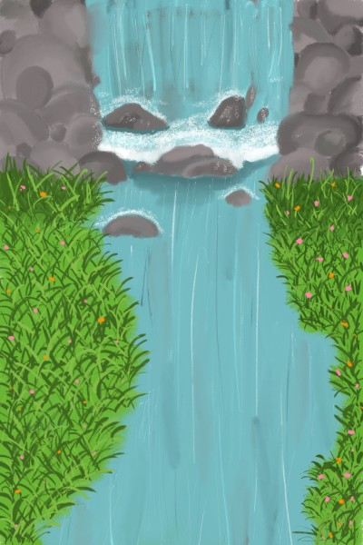 dont go chasing waterfalls  | jemz | Digital Drawing | PENUP