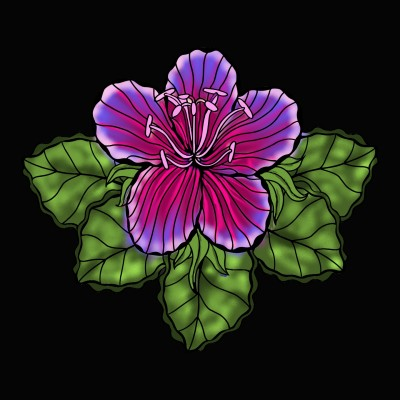 Flower | jemini76 | Digital Drawing | PENUP