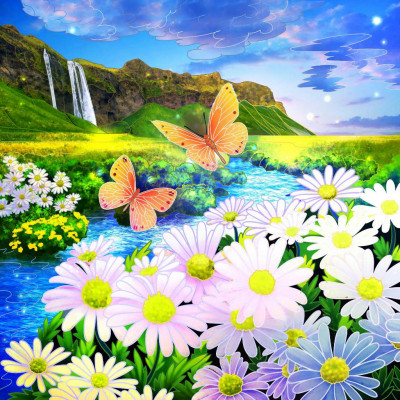 beautiful scenery | Chris | Digital Drawing | PENUP