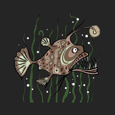 angler fish | mac | Digital Drawing | PENUP