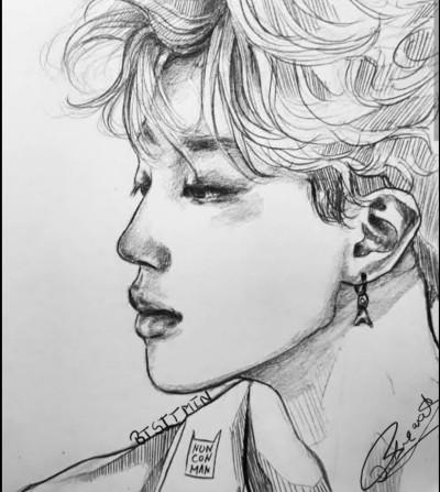 this is for my friend'BTS' | Btsjimin | Digital Drawing | PENUP