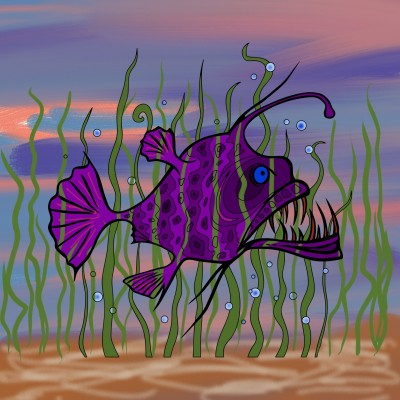Piranha  | gefer | Digital Drawing | PENUP
