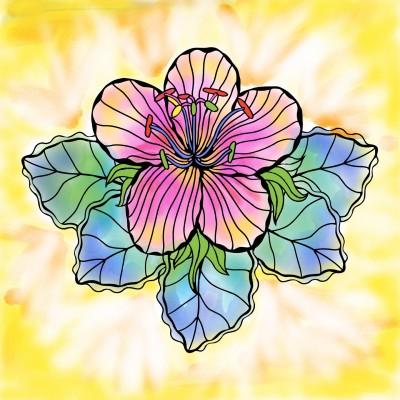 flower bright | boybrilbis | Digital Drawing | PENUP