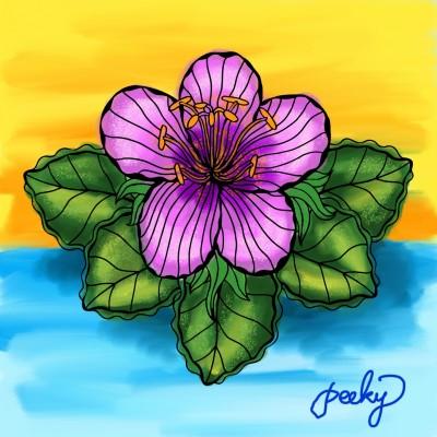 Coloring Digital Drawing | Angel | PENUP