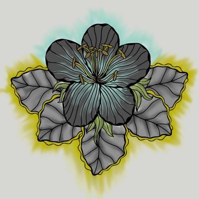 Flower 1 | BlaxkMamba | Digital Drawing | PENUP