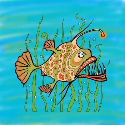 demon fish | dena | Digital Drawing | PENUP