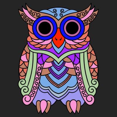 Hiboux  | richard | Digital Drawing | PENUP