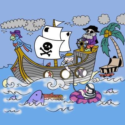 Pirates  | richard | Digital Drawing | PENUP