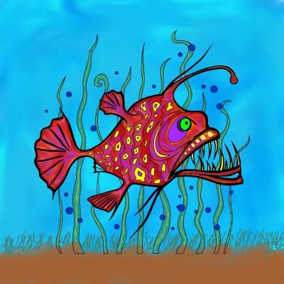 FISH | Tomcat | Digital Drawing | PENUP