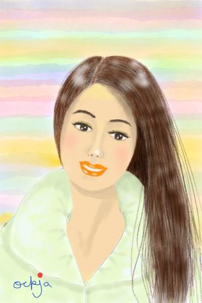 a pretty girl♡ | ockja | Digital Drawing | PENUP