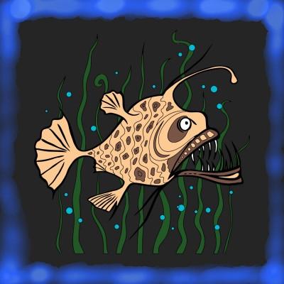 choco brown fish | kiiastic | Digital Drawing | PENUP