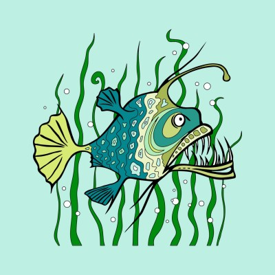 the green fish | Gabrielle | Digital Drawing | PENUP
