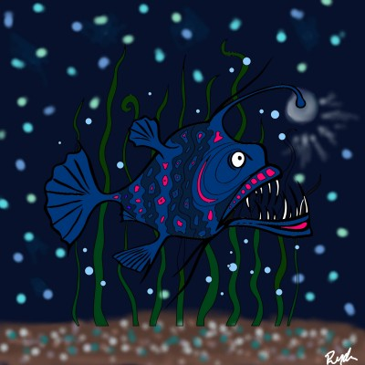 Scary Fish | Ryder | Digital Drawing | PENUP