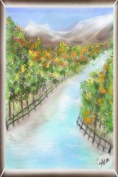Beauty Of Nature    Pandit   Digital Drawing   PENUP