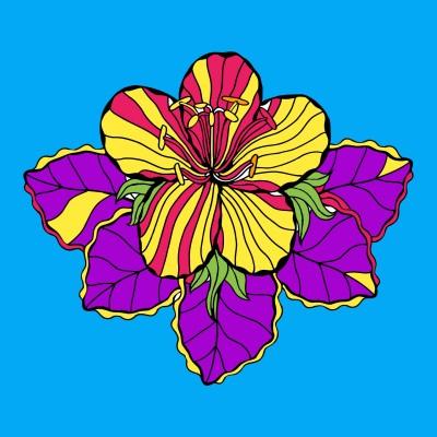 normal puķe | Singbird | Digital Drawing | PENUP