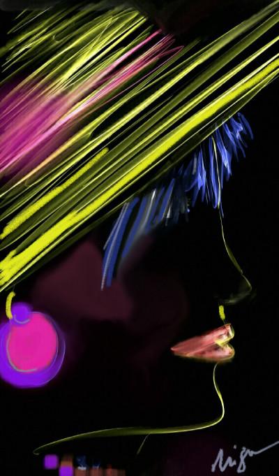 color hat... ArtRage app | Nigart | Digital Drawing | PENUP