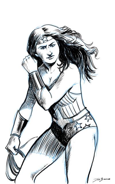 DelBiancoArt - Mulher Maravilha | Katicia | Digital Drawing | PENUP