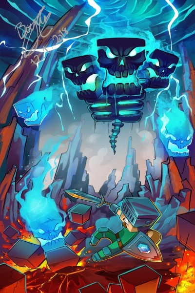 Realistic Minecraft #1 | Templejax303 | Digital Drawing | PENUP