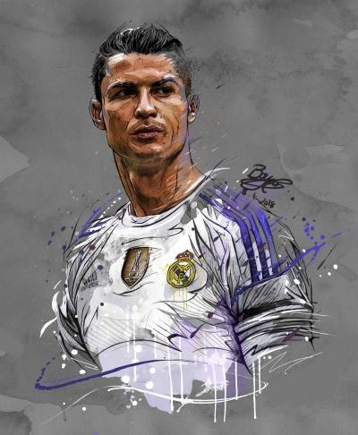 CR 7 cristiano Ronaldo | Templejax303 | Digital Drawing | PENUP