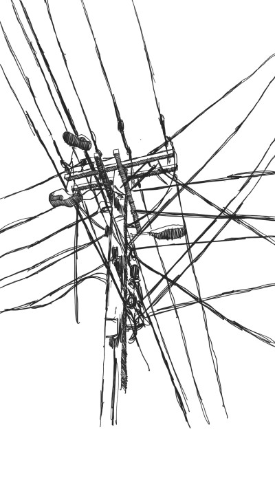 powerline | panduaa | Digital Drawing | PENUP