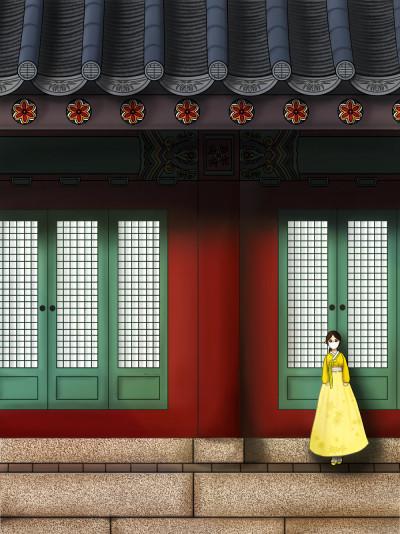 경복궁 봄나들이 | Cong.gee | Digital Drawing | PENUP