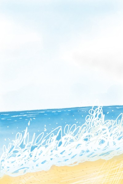 beach | yangchi | Digital Drawing | PENUP