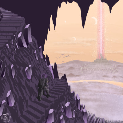 Alien Cave | Lucs | Digital Drawing | PENUP