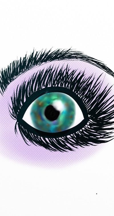 St. Patty's Day Eye | jjbinksljg2 | Digital Drawing | PENUP
