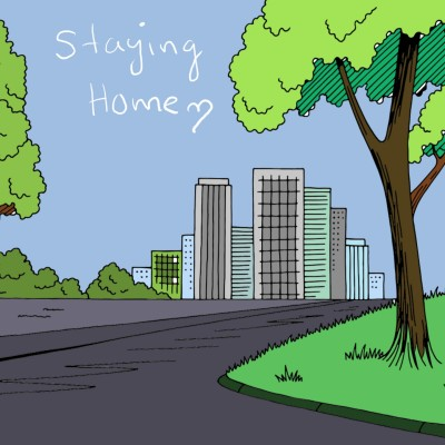 Staying Home . | Ivonne | Digital Drawing | PENUP