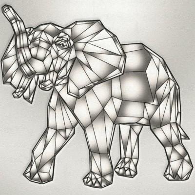 silver elephant   Zenovia   Digital Drawing   PENUP