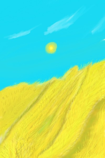 wheat fields in summer | kiara | Digital Drawing | PENUP