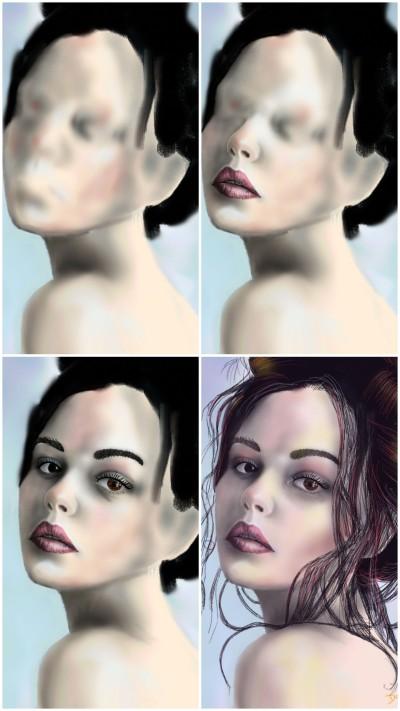 work in progress | Doodilight | Digital Drawing | PENUP