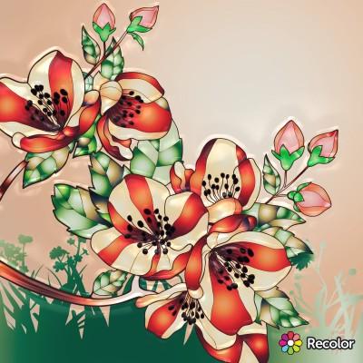 Wildflowers  | Chris | Digital Drawing | PENUP