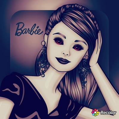 barbie | Zenovia | Digital Drawing | PENUP