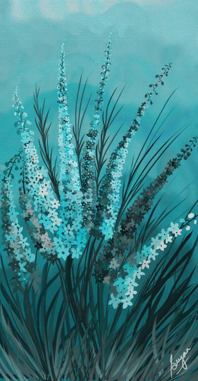 Ocean Blue | Sugan | Digital Drawing | PENUP