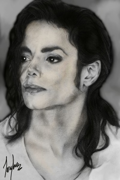 EL REY DEL POP               MICHAEL JACKSON  | cesar | Digital Drawing | PENUP
