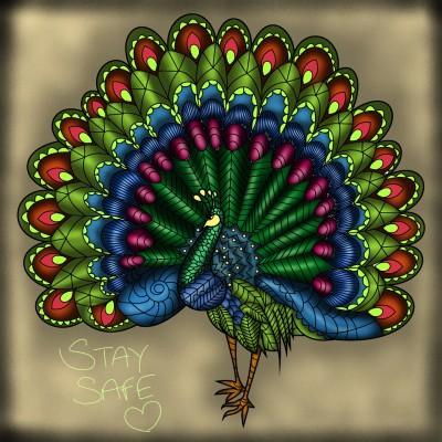 Peacock   JammyC   Digital Drawing   PENUP