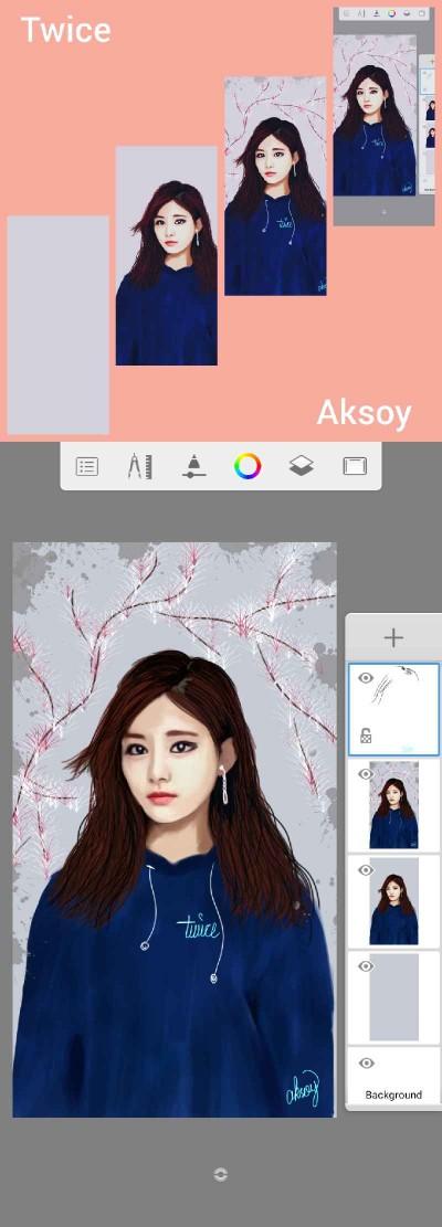 Portrait Digital Drawing   -aksoy-   PENUP