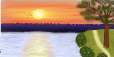 sunset | armin | Digital Drawing | PENUP