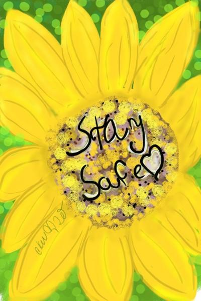 Stay safe♡♡ | Daisy-C.K.W. | Digital Drawing | PENUP