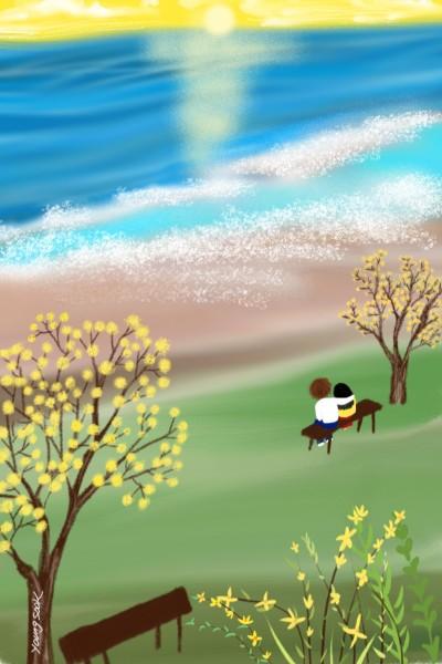 54.산수유 | youngsook | Digital Drawing | PENUP