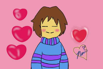 Frisk ~ Gift for _Frisk_dremmur_ ~ | Chara_Dreemurr | Digital Drawing | PENUP