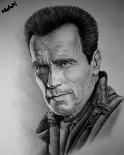 Arnold Schwarzenegger | HateX | Digital Drawing | PENUP